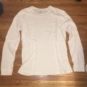 J crew knit goods size small white long sleeve